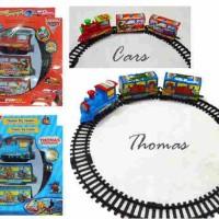 mainan kereta api Gerbong Thomas Dan Cars