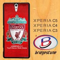 Case, Cover, Hardcase Sony Xperia C3, C4, C5 Liverpool Wallpaper X4054