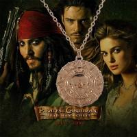 harga Kalung Koin Aztec Coin Movie Pirates Of Caribbean warna emas Tokopedia.com