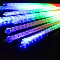 Lampu Meteor 60 cm Light Shower LED Rain Snow Waterproof Hias Pohon