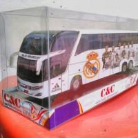 harga miniatur bus madrid Tokopedia.com