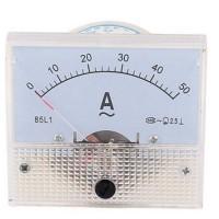Ampere Meter Panel, 50 Ampere Analog Ac Dc 50a Amper *new