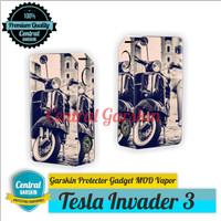 harga Garskin Mod vapor Tesla Invader 3 - vespa Tokopedia.com