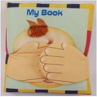 Jual buku bantal kain softbook bayi My Book Murah