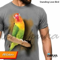 harga STANFING LOVE BIRD - Kaos 3D Umakuka Tsirt 3D Bandung Tokopedia.com