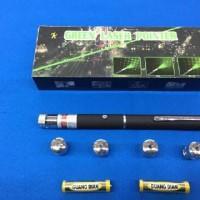 Jual laser pointer green 5 mata. grosir Murah