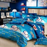 Sprei Monalisa Doraemon Famoly uk 160x200 Termurah
