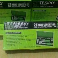 KONCI SOCKET 21 PCS TEKIRO