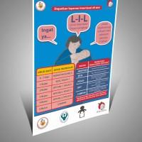 (Poster Bidan KIA) Dapatkan Layanan Imunisasi Di Sini
