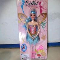Mainan Barbie Ballet Twinkle Toes Bersayap Peri