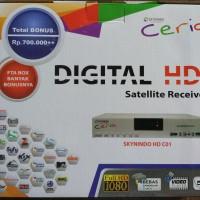 receiver parabola SKYNINDO HD C01 CERIA