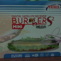 Receiver Parabola Matrix Burger S2 Mini HD