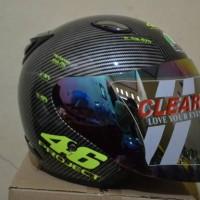Helm Halfface Agv 46 project Karbon