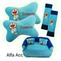 Jual Bantal mobil 3 in 1 Doraemon Murah
