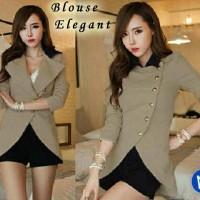 blouse elegant / grosir baju wanita feminim / supplier baju online