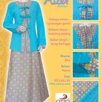Gamis Batik Model Kebaya Instant|Aster Kebaya Simple