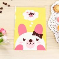Jual plastik bonjour cake cookies packing kertas bungkus imlek valentine Murah