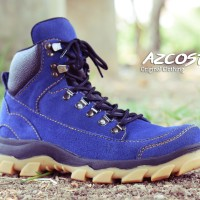 Sepatu Online Bandung Azcost Safety Kulit Buk mercy