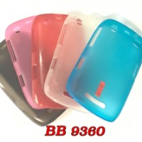 SOFT CASE TRANSPARANT FOR BB 9360 / BLACKBERRY APPOLO CASING COVER