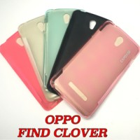 SOFT CASE CAPDASE FOR OPPO FIND CLOVER / R815 COVER CASING
