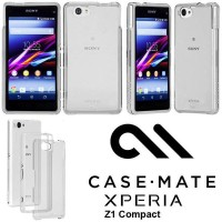 SALE!!! CASE-MATE Naked Tough Sony Xperia Z1 Compact Original - Clear