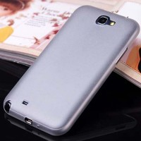 SAMSUNG Galaxy Note 2 - Ultra Thin Slim Matte Hard Case 0.3mm White