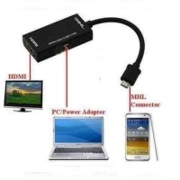 Converter Micro USB to HDMI MHL Adapter Smartphone HP Hardware HD 720p