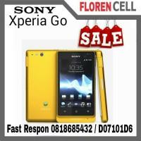 Sony Xperia Go ST27i Yellow Smartphone Tahan Air Tahan debu Ori
