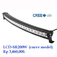 LED Bar 200 Watt LCD-SR200W CREE Lampu Sorot.