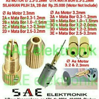 harga Brass Collet Chuck Penyambung Adaoter Mini Drill Bor St389 Tokopedia.com
