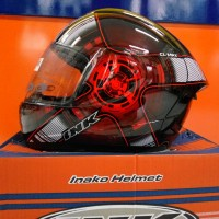 harga Helm INK CL-Max Full Fullface Black Red CLMax Hitam Merah Tokopedia.com