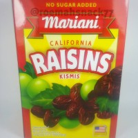 Raisins dried fruit Mariani 300Gr