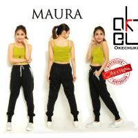 Jual Celana Jogger Pant Wanita Joger Pants Sweatpant Training Panjang Maura Murah