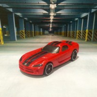 Hot Wheels '06 Dodge Viper Red Kroger 2014 Mystery Car Series