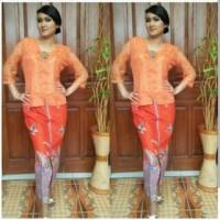 Kebaya Batik Solo, Kebaya Batik Ajeng Orange