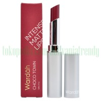 CHOCO TOWN 11 - Wardah Intense Matte Lipstick - 2.5gr