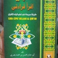 Buku Tamhid Iqro Qiroaty Cara Cepat Belajar Al-Quran