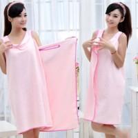 Jubah Handuk Microfiber Daster/bathrobes Bath Towel Hto002