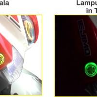 Jual Emblem Yamaha Led / Emblem Yamaha Light / Aksesoris Nmax Murah