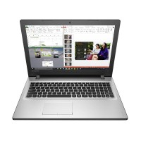Lenovo Ideapad 300 Win10 - Intel Quad N3160 - 2GB - 500GB - Silver