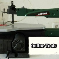Mesin Gergaji Figura // Scroll Saw Variable Speed