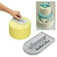 CAKE SMOOTHER PENGHALUS FONDANT CAKE KUE TART ULTAH