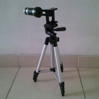 Jual Paket Lensa Telezoom Tripod Weifeng Tele Zoom 8x For HP Smartphone Murah