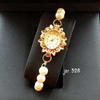 jam tangan fashion mutiara wanita / jtr 528