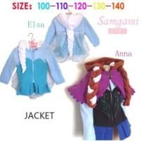 Jual FROZEN JACKET Baju Princess Anak Import Sale Kostum Branded Elsa Anna Murah