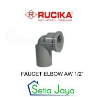 Faucet Elbow / Knee Drat Dalam 1/2