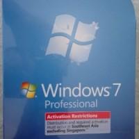 Microsoft Windows 7 Professional FPP 32bit & 64bit - resmi Astrindo
