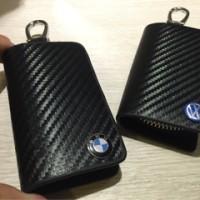 Jual Dompet kunci STNK carbon Logo BMW & VW Murah