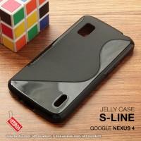 Google Nexus 4 E960 Soft Gel Jelly Silicon Silikon TPU Case Softcase