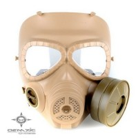 M04 Gas Mask Style Mask w/ Fan ( Desert)